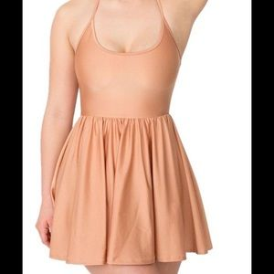 American Apparel size small figure skater dress